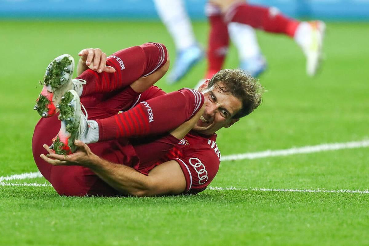 Der FC Bayern kassiert die höchste Niederlage seiner Pokal-Geschichte. Doch es gibt weitere schlechte Nachrichten: Leon Goretzka fällt womöglich wieder verletzt aus.