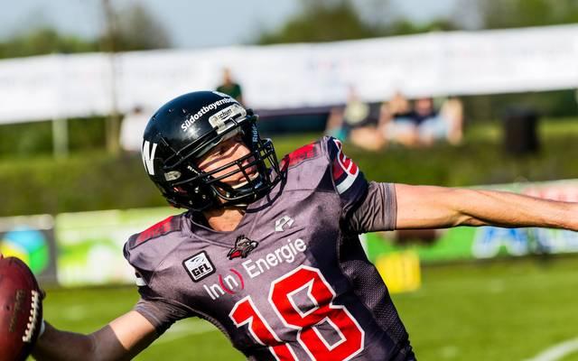 Quarterback Thomas Schmidtke gelang mit den Kirchdorf Wildcats ein Sieg gegen die Munich Cowboys