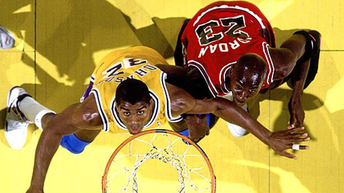 Nach einem 4:0-Sweep gegen die verhassten Pistons kommt es in den NBA-Finals 1991 zum Generationenduell mit Magic Johnson und den L.A. Lakers.
