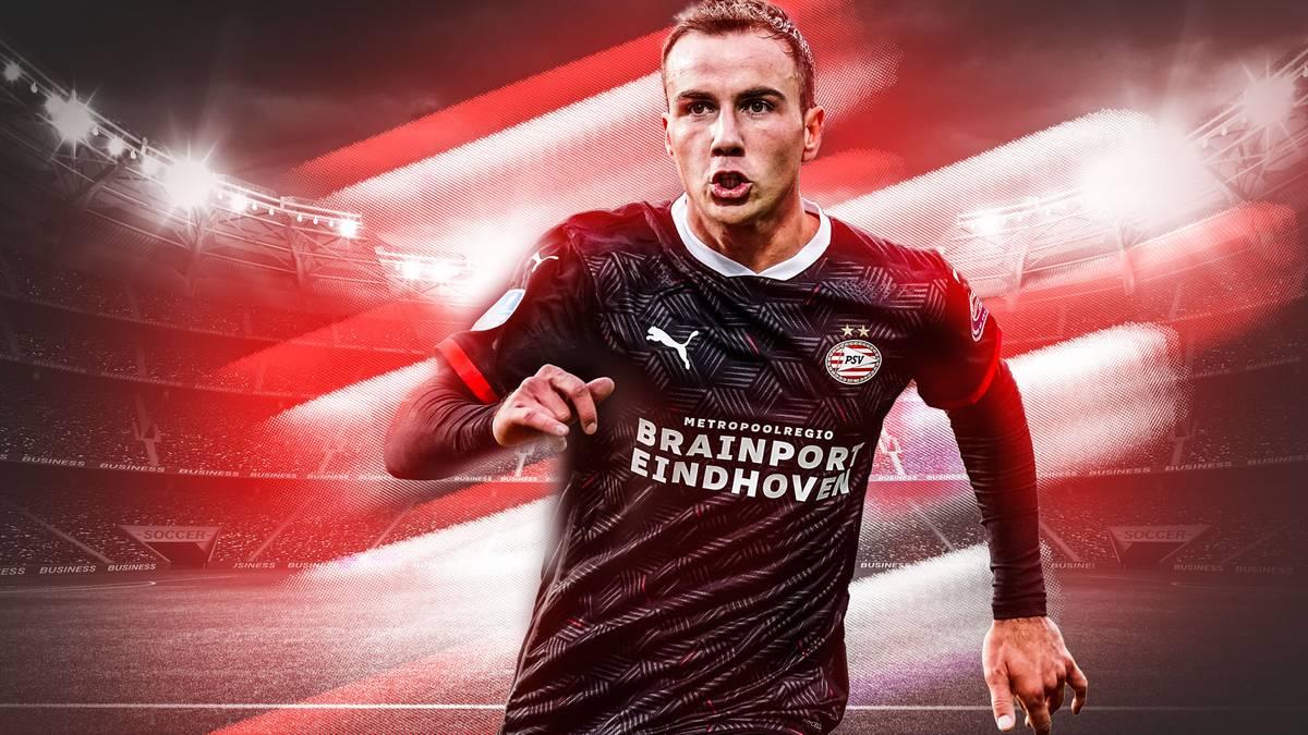 Lob von Weltmeistern: So lief Götzes Traumdebüt für PSV