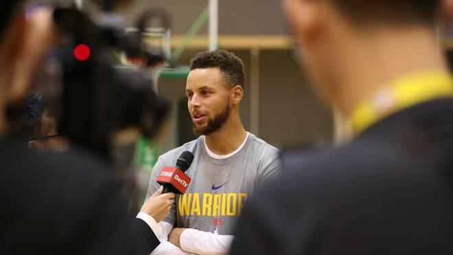 Stephen Curry ist gegen Hymnenproteste in der NBA