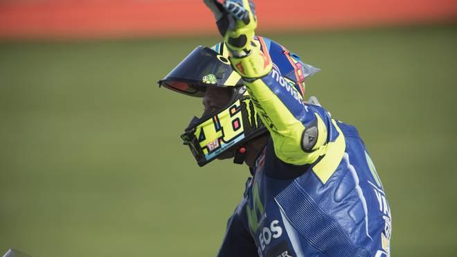 Valentino Rossi absolvierte einen dreitägigen Test auf seiner Yamaha