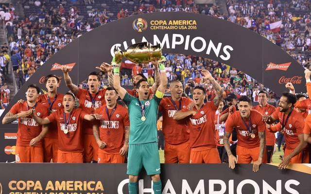 Bei der letzten Copa America holte sich Chile nach einem Finaltriumph über Argentinien den Titel