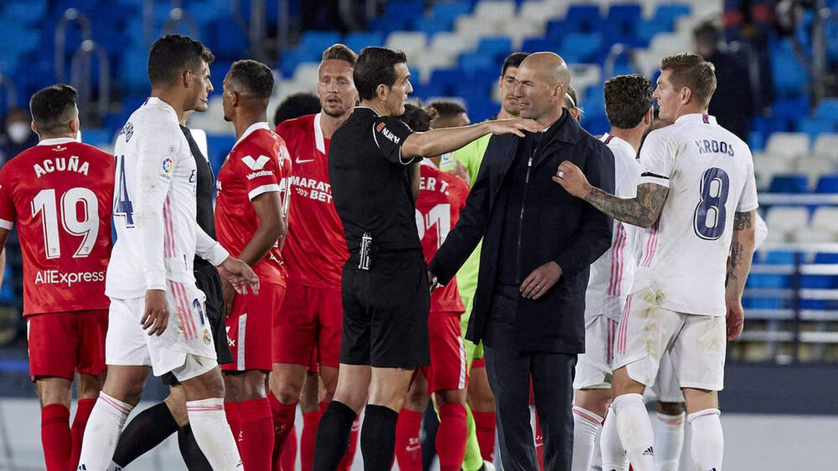"""""""Was für eine Schande!"""" Real Madrid tobt nach VAR-Drama"""