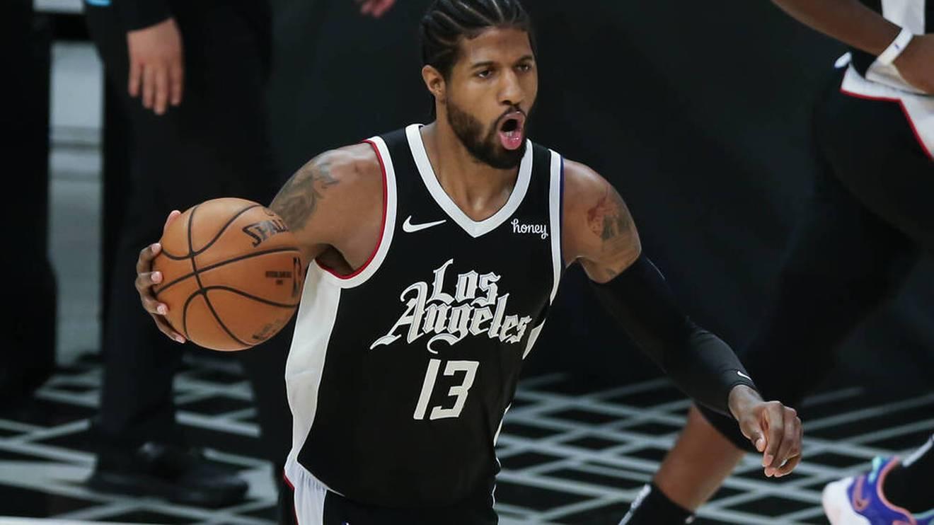 Paul George führte die Los Angeles Clippers zum Sieg gegen die Suns