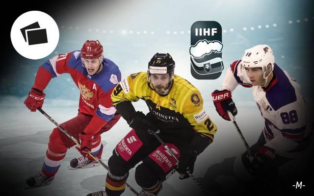 Bei der Eishockey-WM kämpfen 16 Mannschaften um den Titel