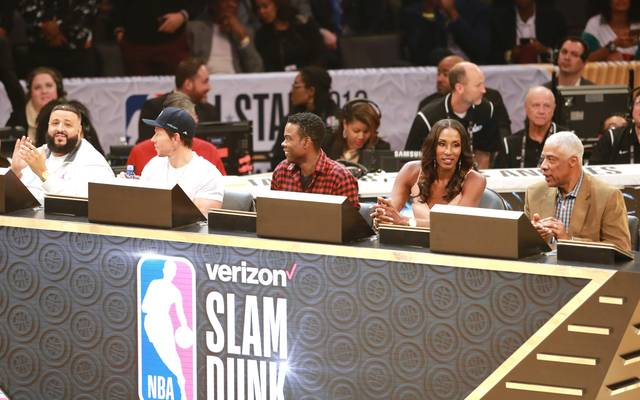 Celebrities At The 2018 State Farm All-Star Saturday Night