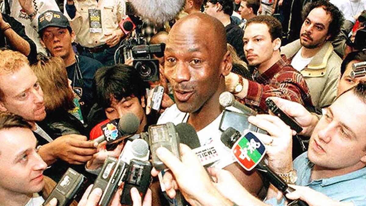 """Am 18. März 1995 stehen die berühmten Worte in einer Pressemitteilung: """"I'm back!"""""""