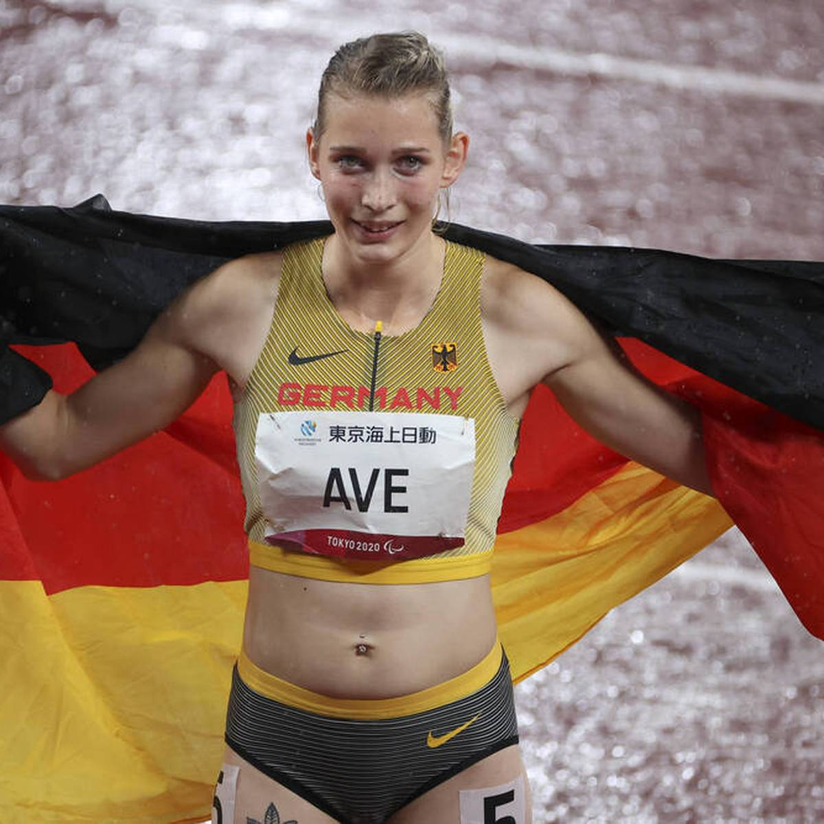 Weltrekord und Gold! Para-Sprinterin Ave brilliert