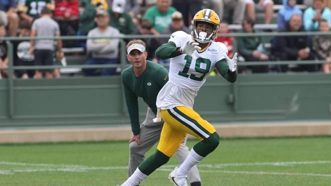Equanimeous St. Brown hat den Kader-Cut der Packers überstanden