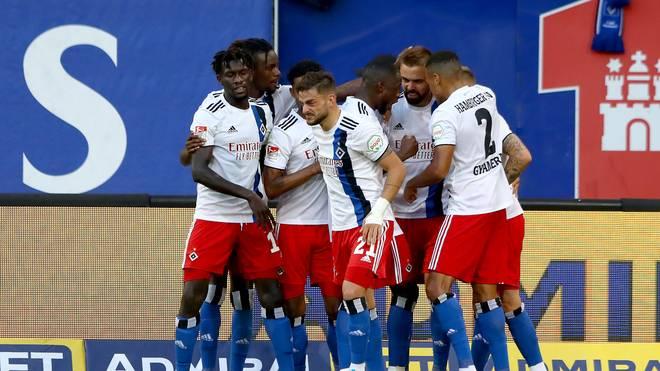 Der Hamburger SV hat die Tabellenführung in der 2. Bundesliga erobert