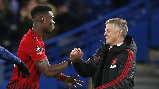 Mittelfeldroutinier Paul Pogba besitzt bei Manchester United noch einen Vertrag bis 2021