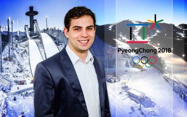 Für SPORT1 berichtet Jonas Nohe von den Olympischen Winterspielen aus Pyeonchang