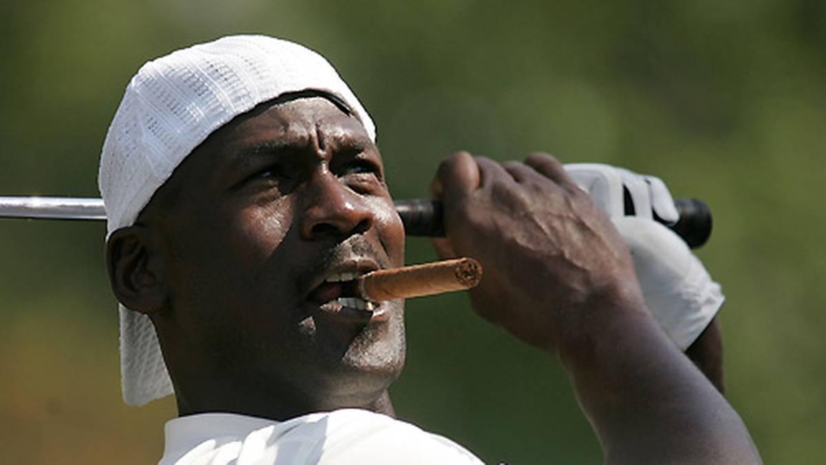 Seine Golf-Leidenschaft ist fast so groß wie das Basketball-Feuer. In jeder freien Minute ist Jordan auf dem Grün zu finden.