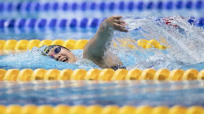 Sarah Köhler hat den deutschen Meistertitel in 1500 m Freistil gewonnen