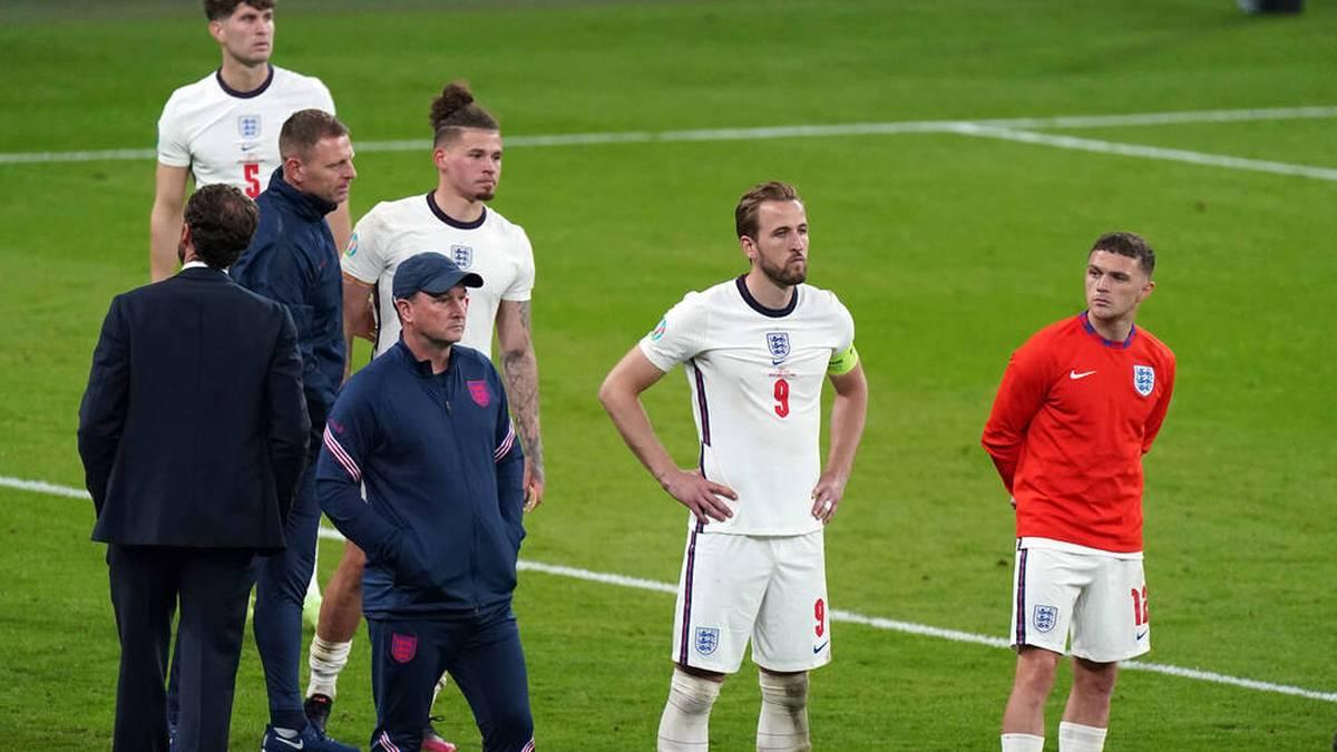 Harry Kane verpasste mit England den ersten EM-Titel