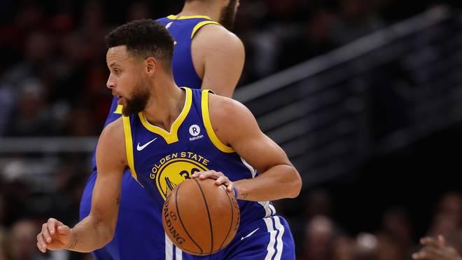 Stephen Curry und die Golden State Warriors patzen