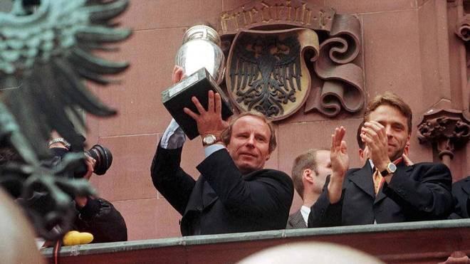 Berti Vogts gewann mit dem DFB-Team 1996 den EM-Titel