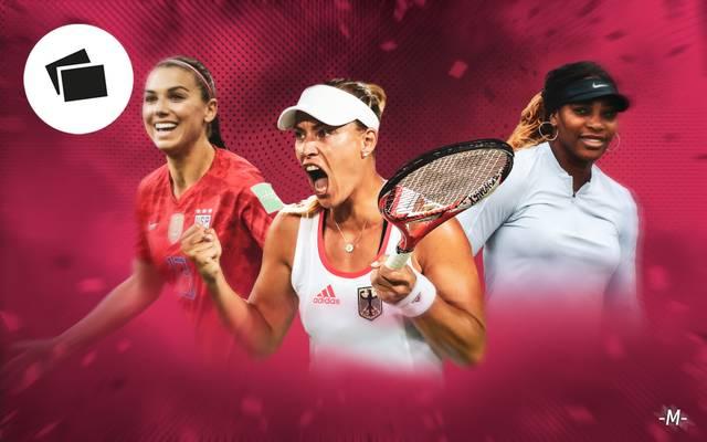 Ranking: Die Top-Verdienerinnen im Sport mit Kerber, Williams, Halep