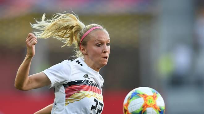 Turid Knaak trifft mit den DFB-Frauen im ersten WM-Spiel auf China