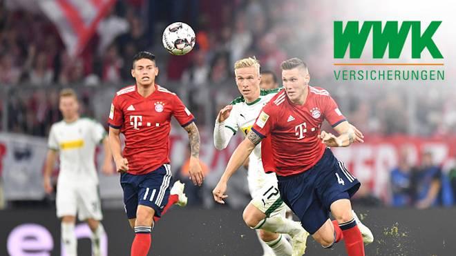 Bundesliga, Borussia Mönchengladbach - FC Bayern München