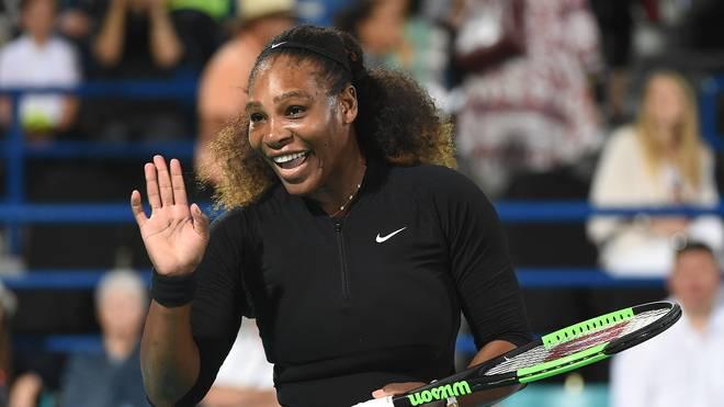 Serena Williams nahm sich nach der Geburt ihrer Tochter eine Auszeit vom Tennis
