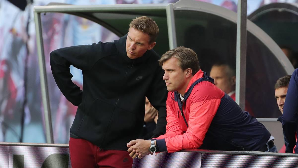 RB-Sportdirektor Markus Krösche traut Julian Nagelsmann und seinem Team den Champions-League-Titel zu
