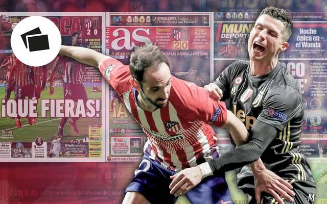 Atletico Madrid, Juventus Turin, Cristiano Ronaldo, Champions League, Pressestimmen