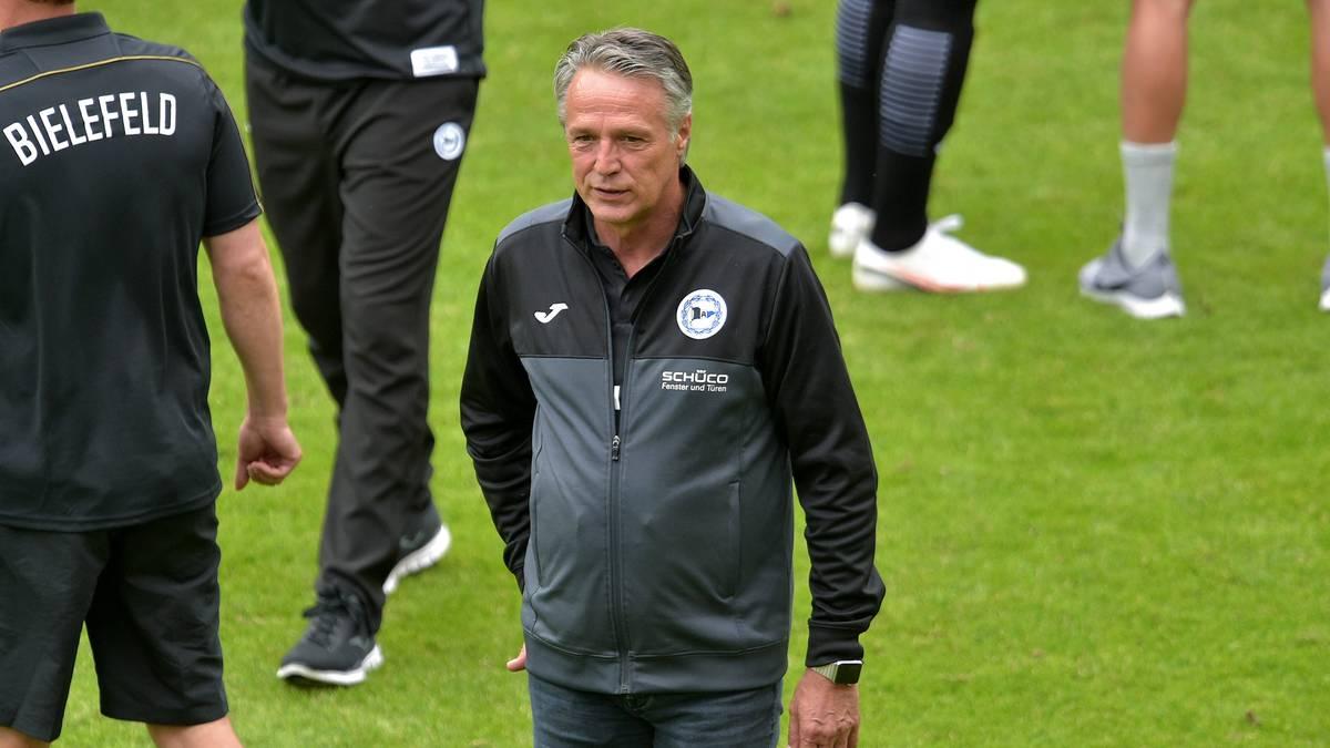 Uwe Neuhaus führte Bielefeld in die Bundesliga