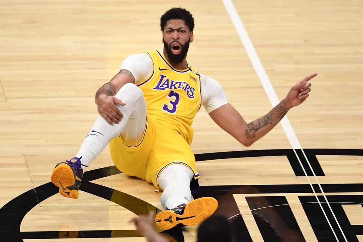 In Abwesenheit des verletzten LeBron James übernehmen Anthony Davis und Russell Westbrook für die Los Angeles Lakers. Doch auch um Davis gibt es Verletzungssorgen.