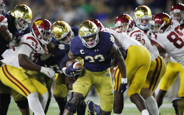 Josh Adams überzeugte bei den Fighting Irish