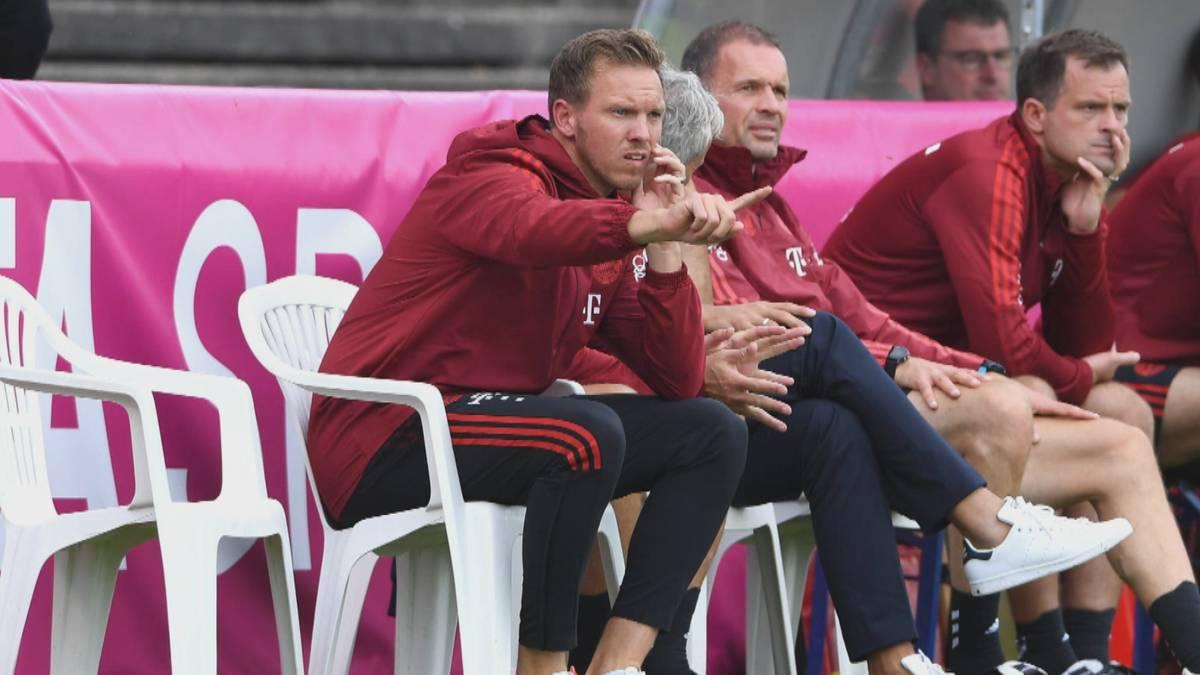 Der neue Bayern-Trainer fordert eine Steigerung von seinen offensiven Außenspielern.
