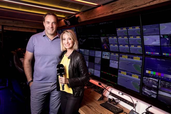 Sarah Valentina (r.) und Patrick Simon werden auch in den kommenden Jahren die ADAC-Serien bei SPORT1 präsentieren