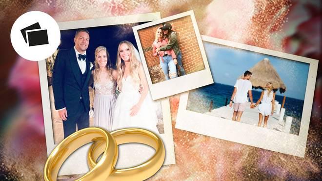 Angelique Kerber war bei der Hochzeit von Caroline Wozniacki und David Lee zu Gast