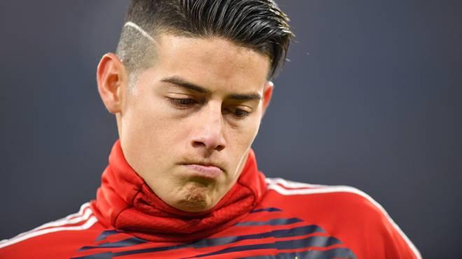 James Rodriguez ist bis 2019 von Real Madrid an den FC Bayern ausgeliehen