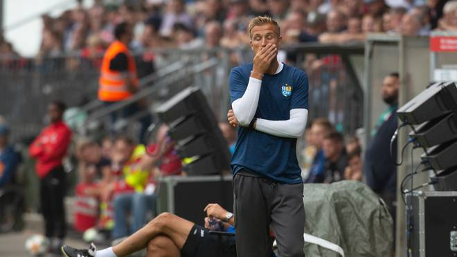 3. Liga: Zukunft des Chemnitzer FC wieder ungewiss, Manager David Bergner vom Chemnitz FC während der Partie bei Viktoria Köln