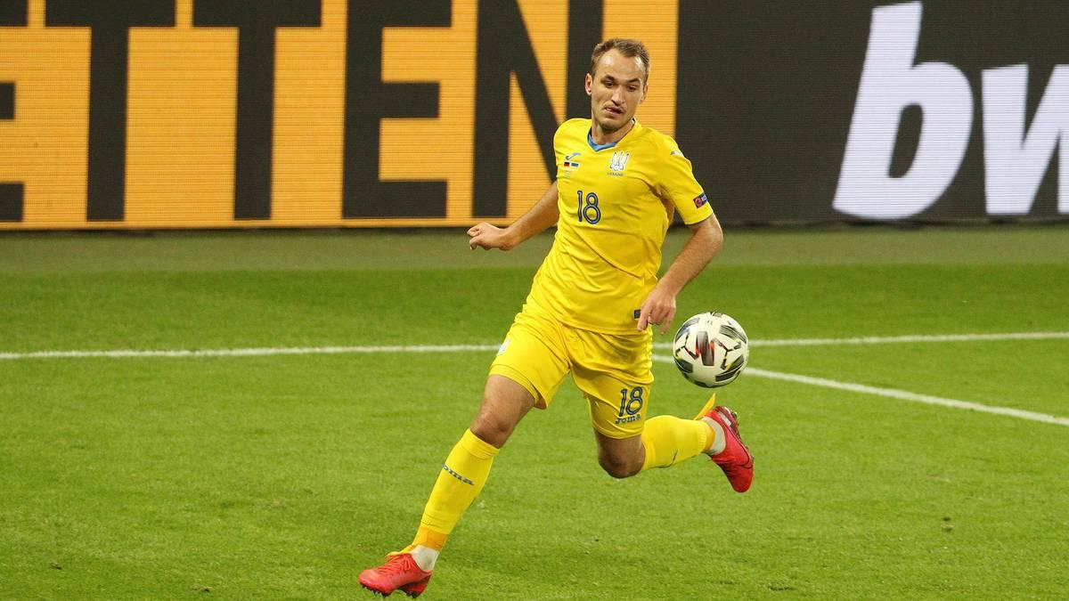 Den ukrainischen Spielern droht der Abstieg aus der Nations League