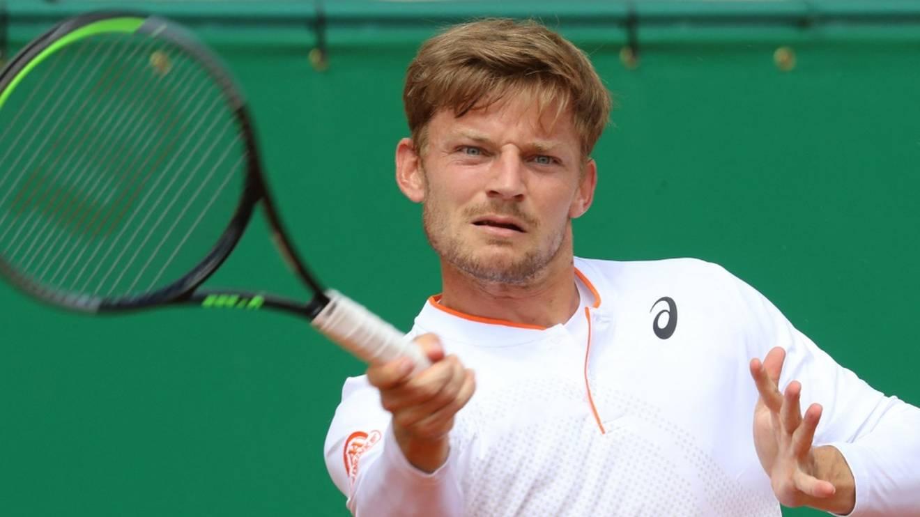 David Goffin verlor im Viertelfinale von Monte Carlo gegen Daniel Evans