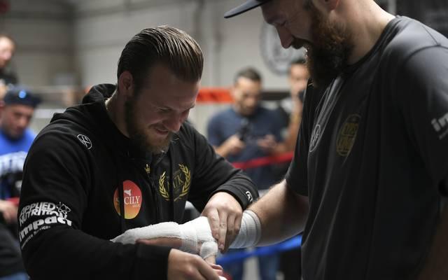 Mit Hilfe von Trainer Ben Davison verlor Tyson Fury um die 60 Kilo Gewicht