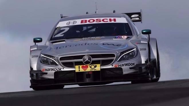 Gary Paffett mit Bestzeit in nassem Training am Nürburgring