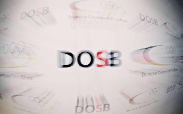 Der DOSB, hier das Logo, wurde 2006 gegründet