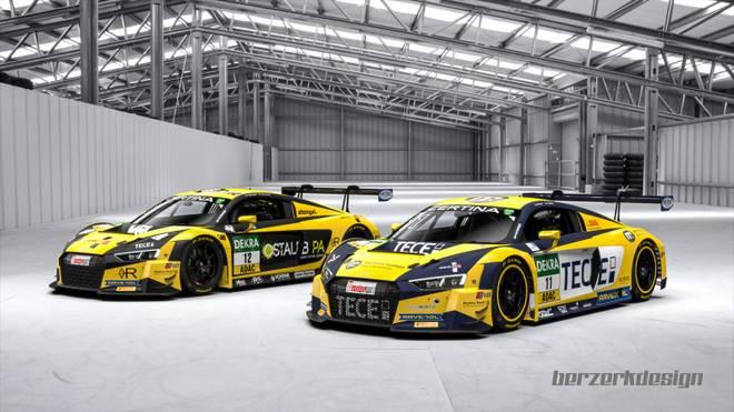 Das Team EFP by TECE startet mit zwei Audi R8 LMS