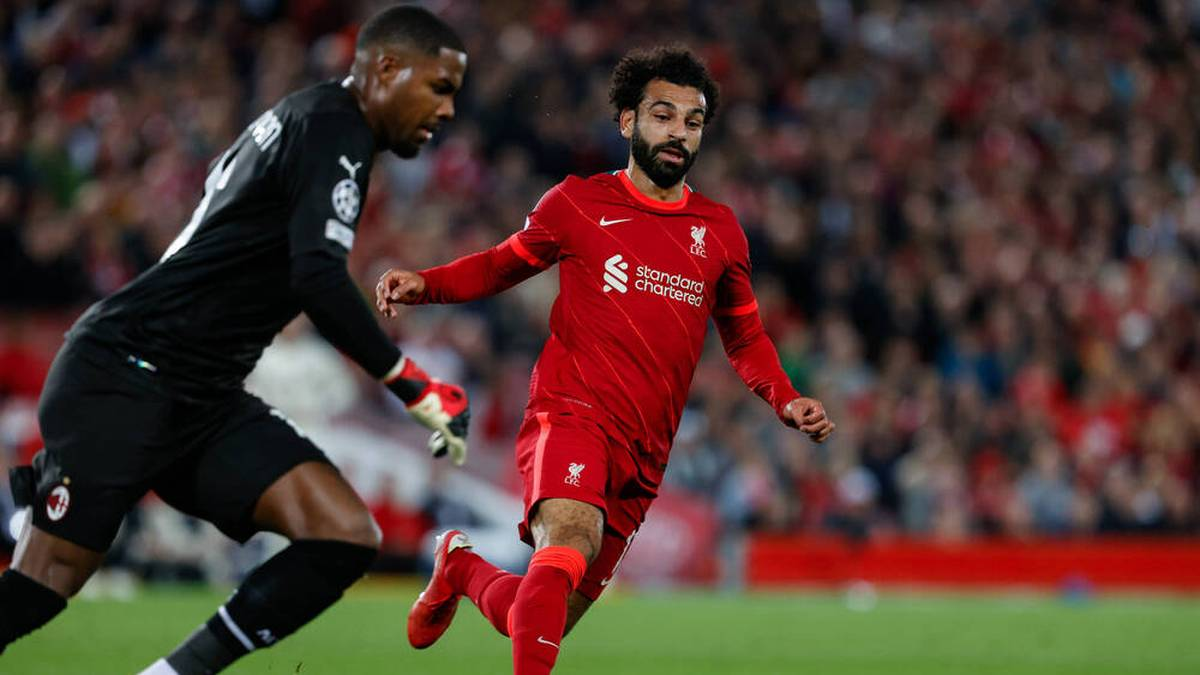 Mike Maignan verletzte sich bei einer Heldentat gegen Salah