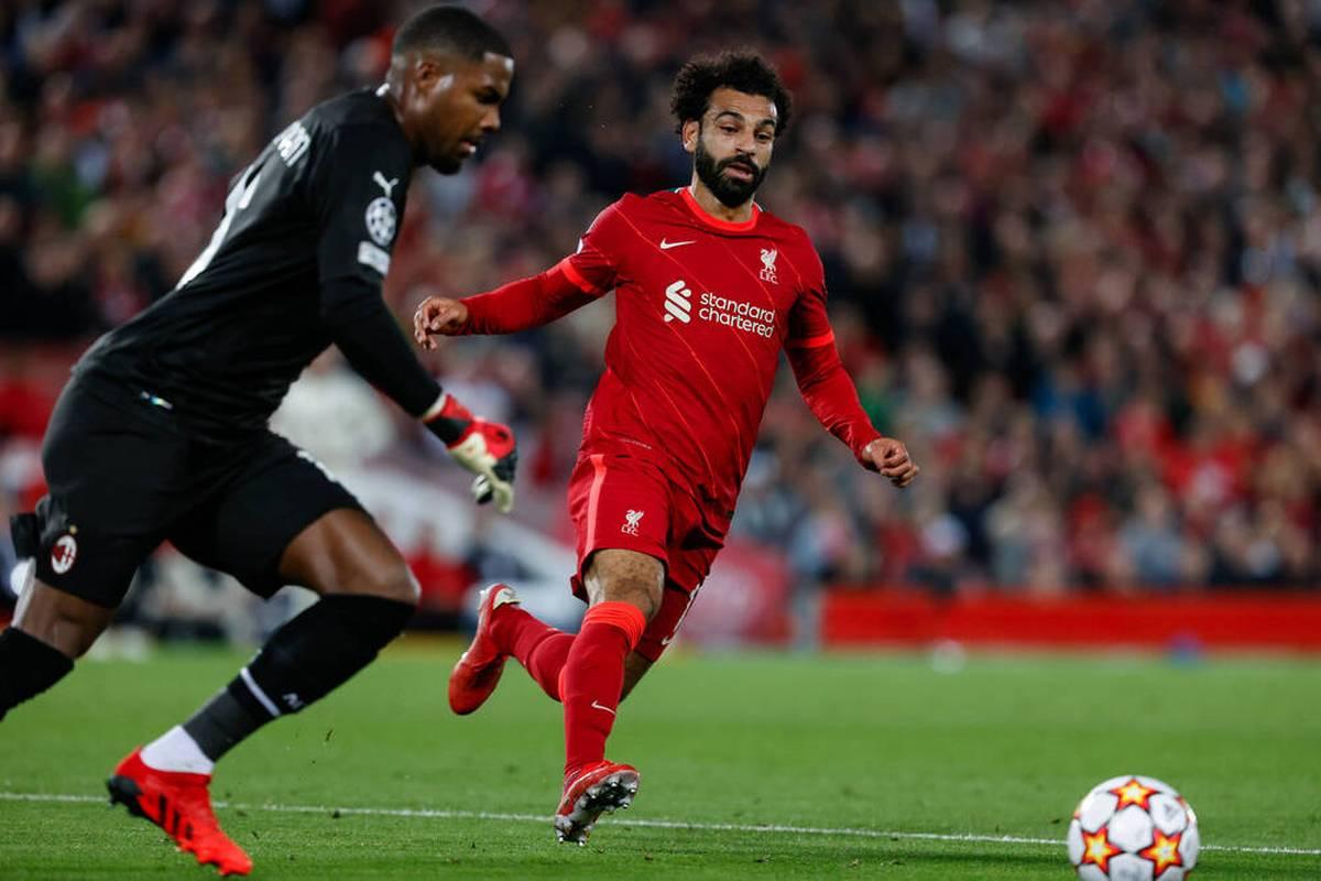 Mike Maignan schwingt sich beim Spiel des AC Milan gegen den FC Liverpool zum zwischenzeitlichen Helden auf - eine Elfer-Parade gegen Superstar Mohamed Salah bezahlt er letztlich aber teuer.