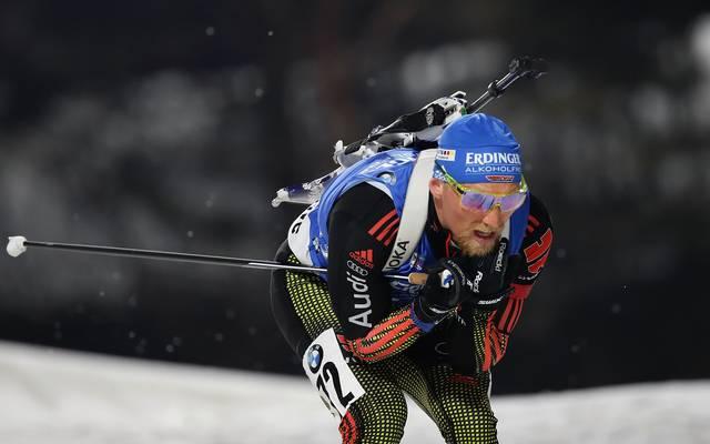 Erik Lesser verpasste seinen dritten Weltcupsieg um Haaresbreite