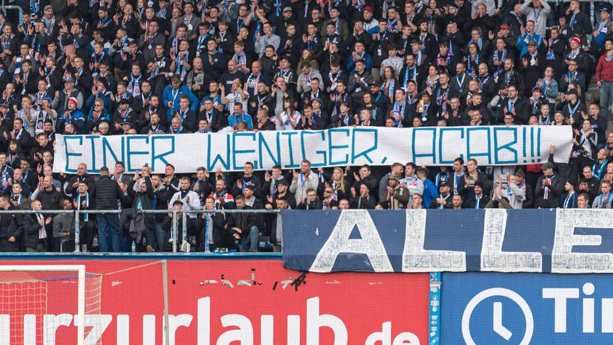 """""""Menschenverachtend""""! Hansa-Fans sorgen für Eklat"""