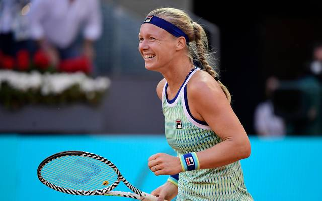 Kiki Bertens hat das WTA-Turnier in Madrid gewonnen
