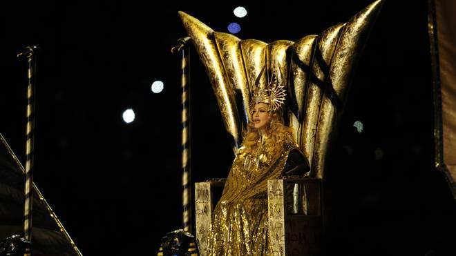 Madonna lieferte 2012 eine monumentale Show ab