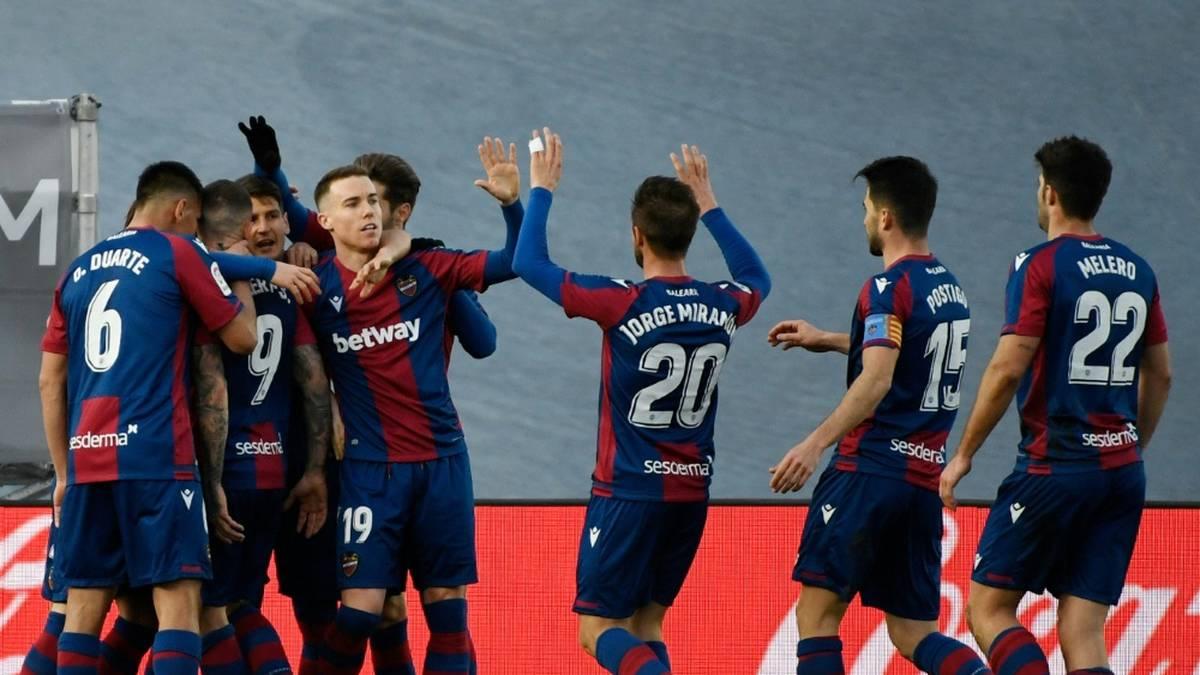 Levante winkt Sensation in Copa del Rey