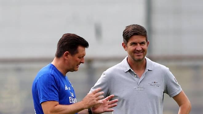 Ralf Becker und Christian Titz  - das starke Duo beim Hamburger SV